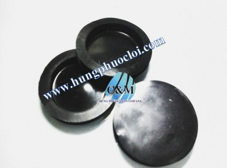 Nút heo đen 31mm  ( Piggy Bank Stopper Black )